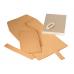 極簡風手縫記事本 棕 14x11x2cm