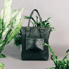 Leather Work Course – Plant Circle Soft Tote Bag (Intermediate)