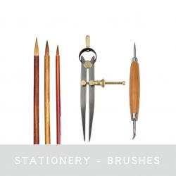 Brushes & Stationery