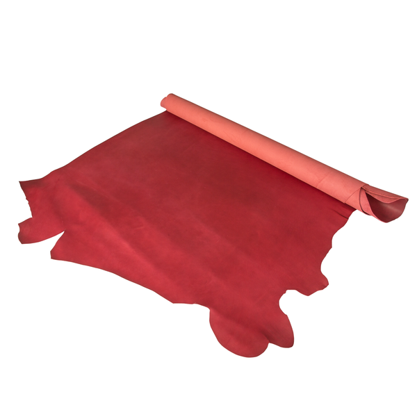 夫烈區雕刻皮 棗紅 特級 SIDE 2.0/2.4mm