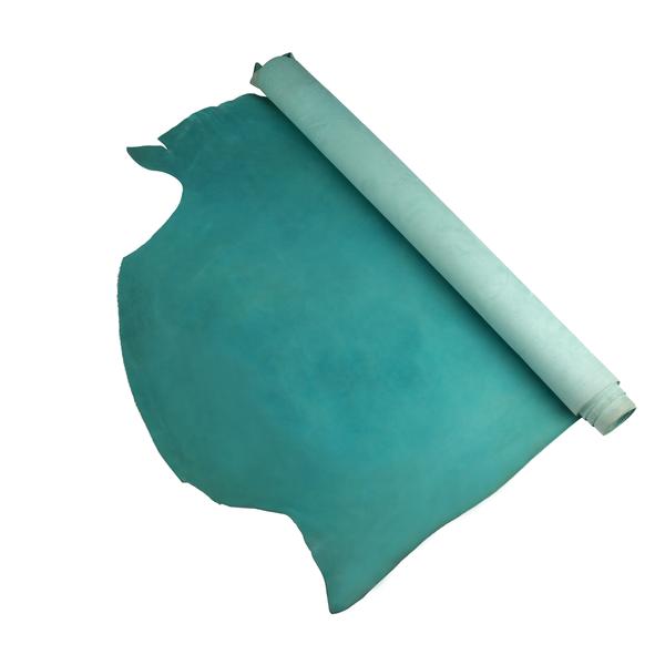 夫烈區雕刻皮 淺藍 特級 SIDE 2.0/2.4mm