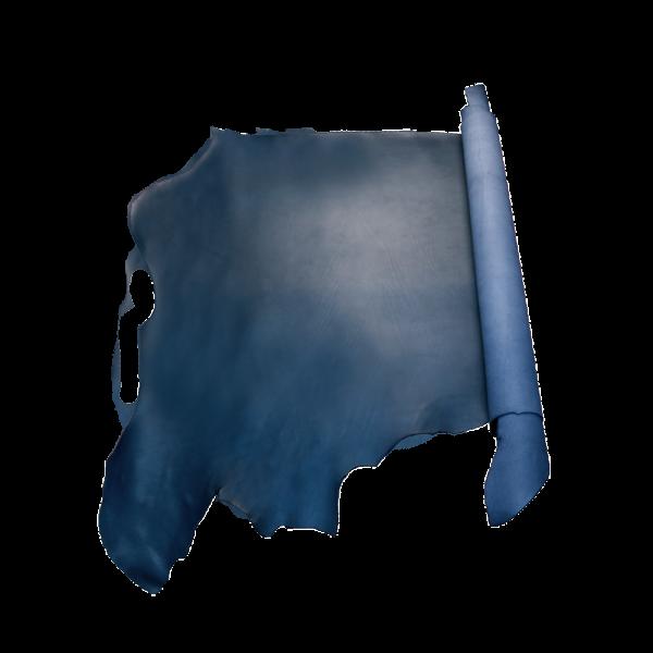 夫烈區雕刻皮 海軍藍 特級 SIDE 2.0/2.4mm