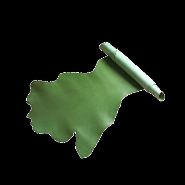 義大利布諾邊皮 草綠色 BELLY 1.6/2.0+mm