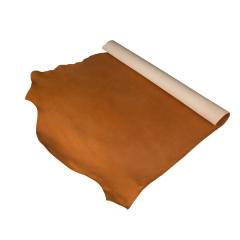 夫烈區未透染雕刻皮 黃棕 特級 SIDE 2.0/2.4mm