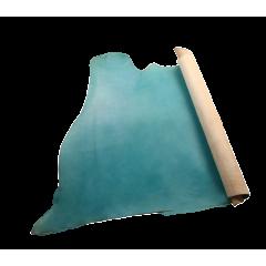 夫烈區噴色軟Q植鞣皮 藍色 特級 SIDE 2.0/2.4mm