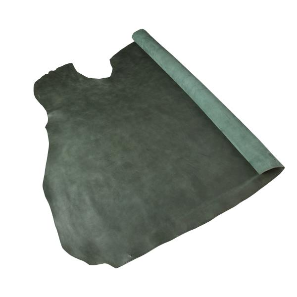 耶革拉軟植鞣牛皮 深綠 SIDE 2.6/2.7mm