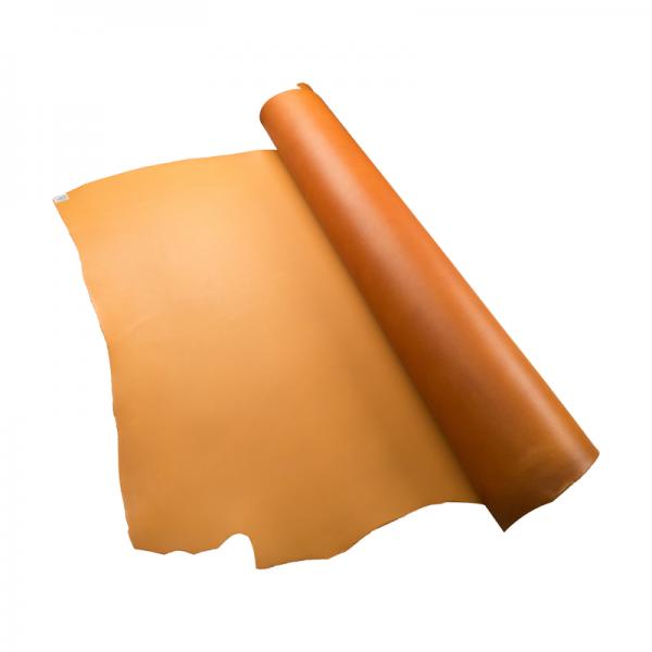 米拉植鞣雙面四方頭皮 黃棕D/S 2.5/3.0mm