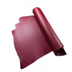 米拉植鞣雙面四方頭皮 暗紅D/S 2.5/3.0mm