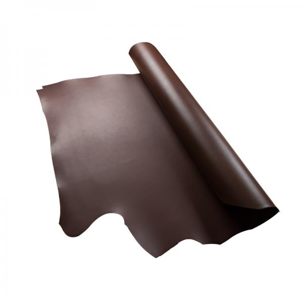 米拉植鞣雙面四方頭皮 焦茶D/S 2.5/3.0mm