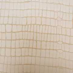 Frence Embossed Veg-Tanned Large-Alligator Side 2.0-2.2mm