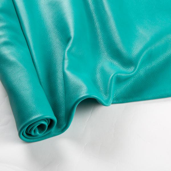 義大利拿帕軟牛皮 全裁 土耳其藍色 1.2/1.4mm