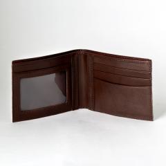 艾格拉證件短夾 淺茶 ITALY 23x8.5cm
