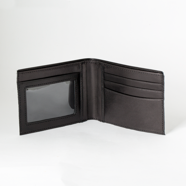 艾格拉證件短夾 黑 ITALY 23x8.5cm
