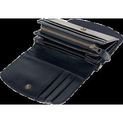 艾格拉仕女短革包 黑 ITALY 11.7x9.8cm