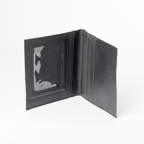 視窗短夾 黑 18x9.5cm