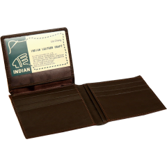 Bifold Card Wallet Inner Coffee (21.5x9cm)