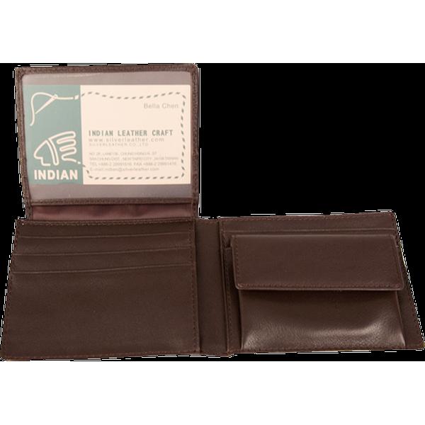零錢袋證件短夾 咖 21.5x8.5cm