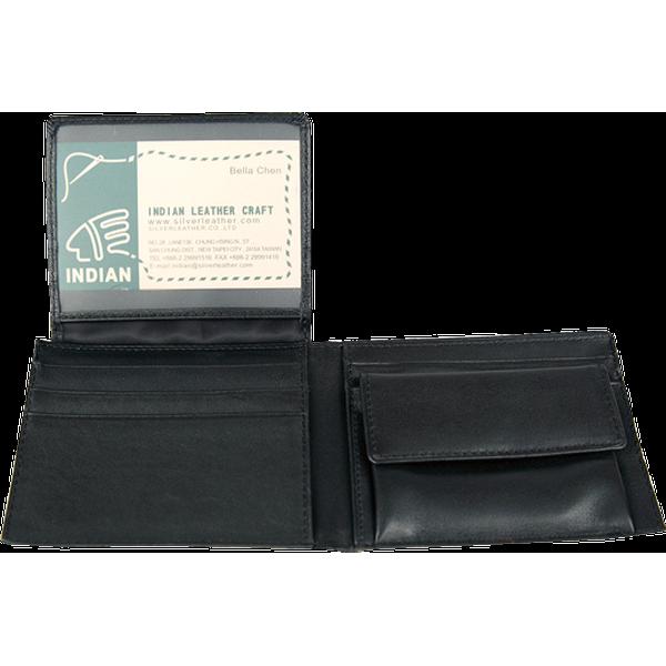 零錢袋證件短夾 黑 21.5x8.5cm