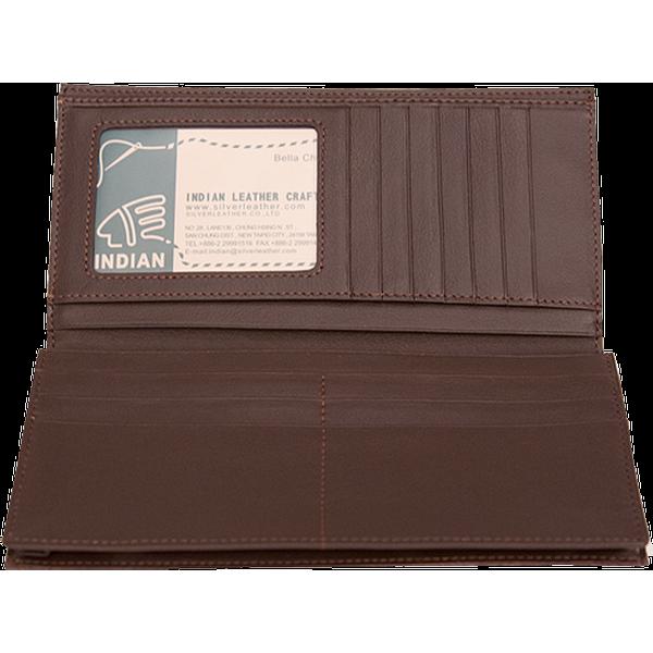 信用卡證件長夾 咖 19.5x19cm