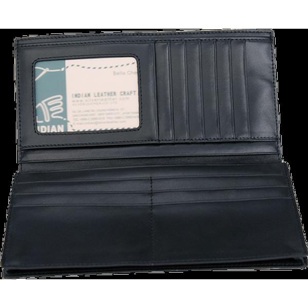 信用卡證件長夾 黑 19.5x19cm