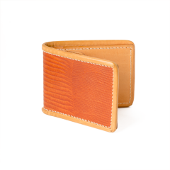 INDIAN Embossed Lizard Pattern Wallet Natural (9X24cm)