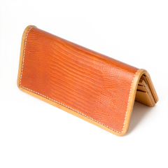 INDIAN Embossed Lizard Pattern Wallet Natural (19.8X18.6cm)
