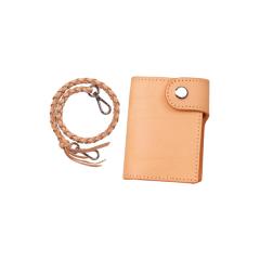 印地安手縫腰煉短夾 19.5x11.5cm