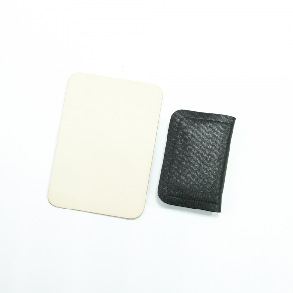 長方形拉鍊錢包材料包 黑 11x7.5cm