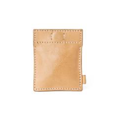 極簡風手縫鑰匙錢包 本色 10x8cm
