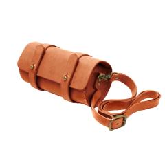 印地安手縫圓桶包 18x9.5cm
