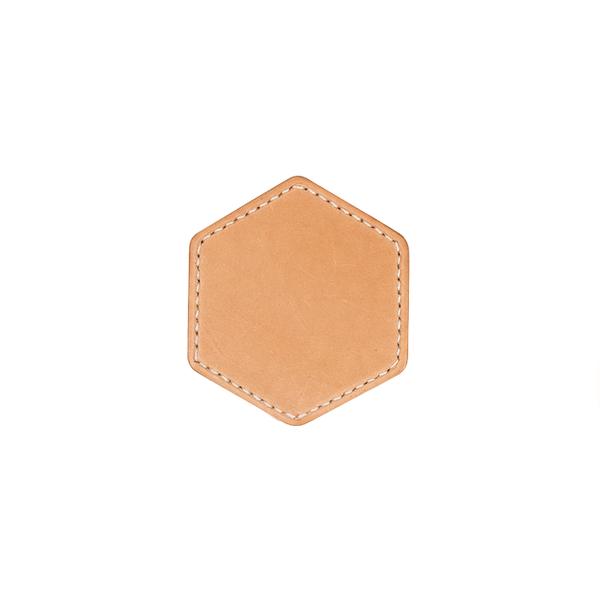 茶杯墊 六角形 9x9cm 4入