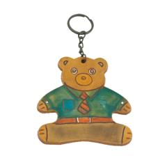 小熊鑰匙圈 9x9cm 2入