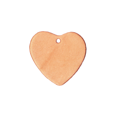 Leather Piece Heart 20 Pieces Fix Price