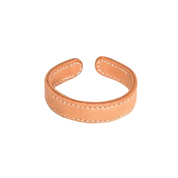 銅襯皮手環 1.5x18.5cm 2入