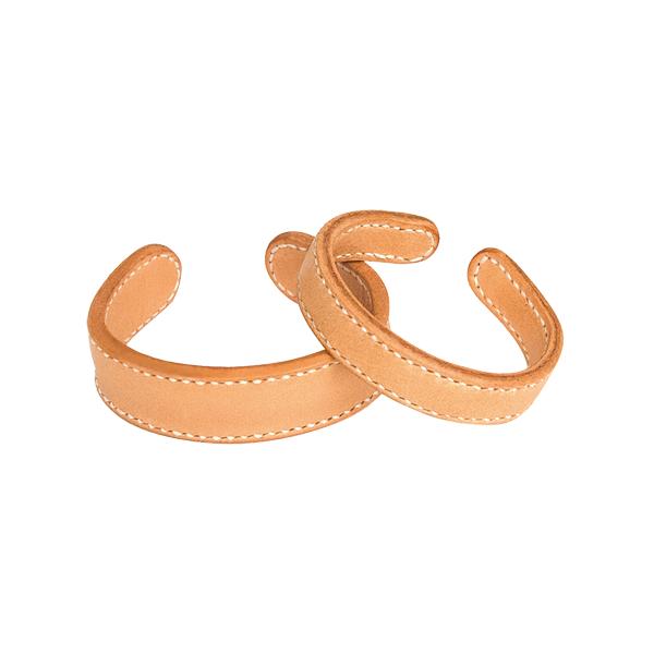 銅襯皮手環 2x18.5cm 2入