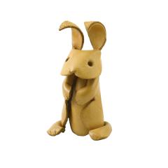 皮塑動物 兔子7x7cm