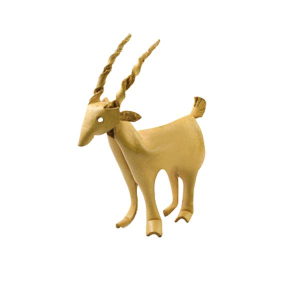 皮塑動物 羚羊 10x7cm