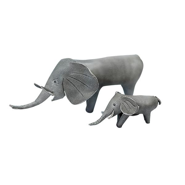 日製皮塑 親子象-售完為止