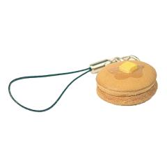 日製皮飾 奶油鬆餅 2.5x2.5x1cm-售完為止