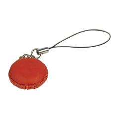 日製皮飾 草莓馬卡龍 2.3x2.3x1.5cm-售完為止