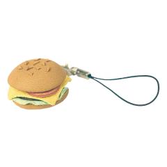 日製皮飾 漢堡 3.5x3.5x1.8cm-售完為止