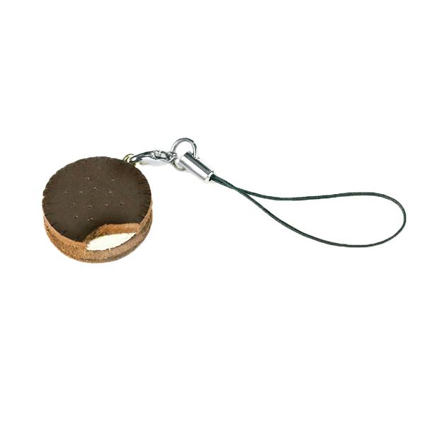 日製吊飾 巧克力夾心餅乾 2x2x0.5cm-售完為止
