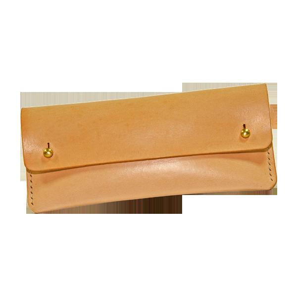 印地安手縫筆袋 本色 18x8.5cm 未含線材