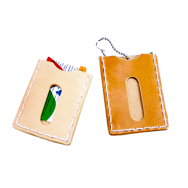 印地安手縫革卡夾 9.8x7.3cm