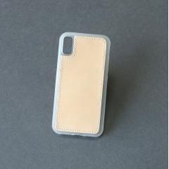 IPHONE X 手機殼材料包 透明 PC+TPU