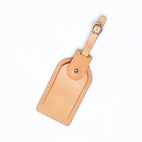 行李卡夾吊牌材料包 本色 6.5x12cm