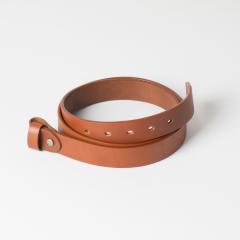 歐革皮帶組 棕色 3.0x110cm 含帶耳
