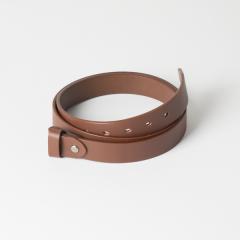 歐革皮帶組 咖啡 3.0x120cm 含帶耳
