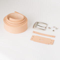 皮帶教學材料包 3.0cm 附隨機帶頭