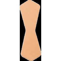 吊耳皮革片 A 4.5x14cm 4入